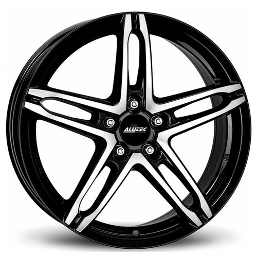 Легкосплавные диски Alutec Poison 6x15 4x100 ET38 D63,3 DiamondBlackFrontPolished