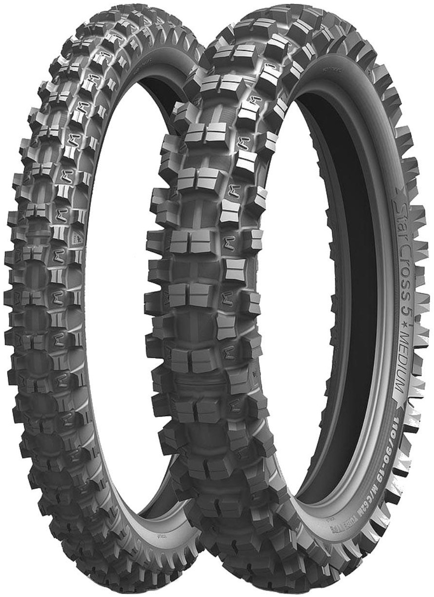 Мотошина задняя Michelin Starcross 5 Medium 90/100R14 49M