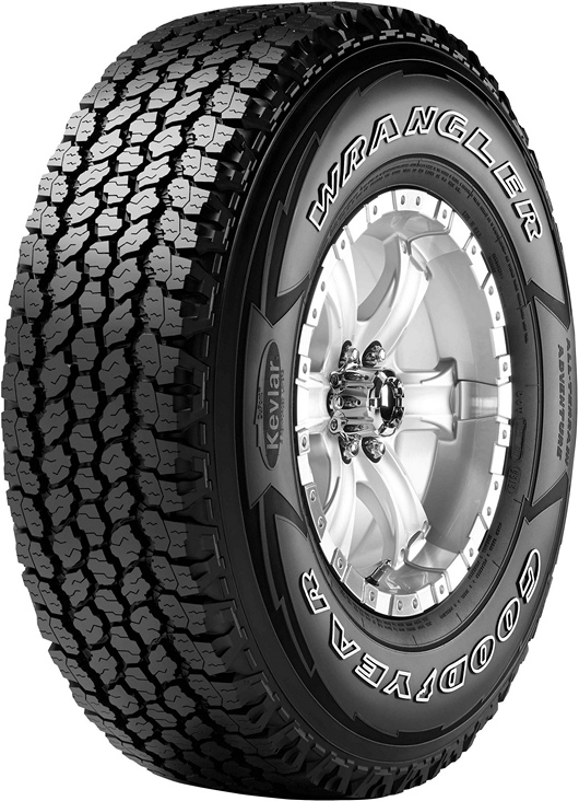 Летние шины GoodYear Wrangler All-Terrain Adventure 225/75R16 108T