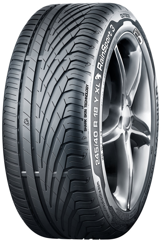 Летние шины Uniroyal RainSport 3 225/50R17 94W (run-flat)